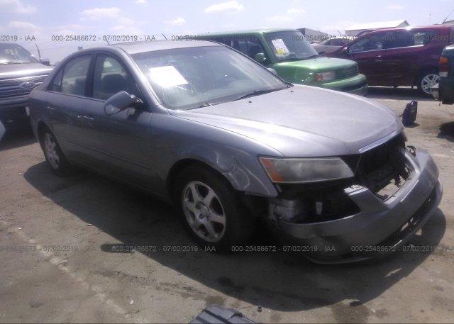 Inventory #948443368 2006 Hyundai SONATA