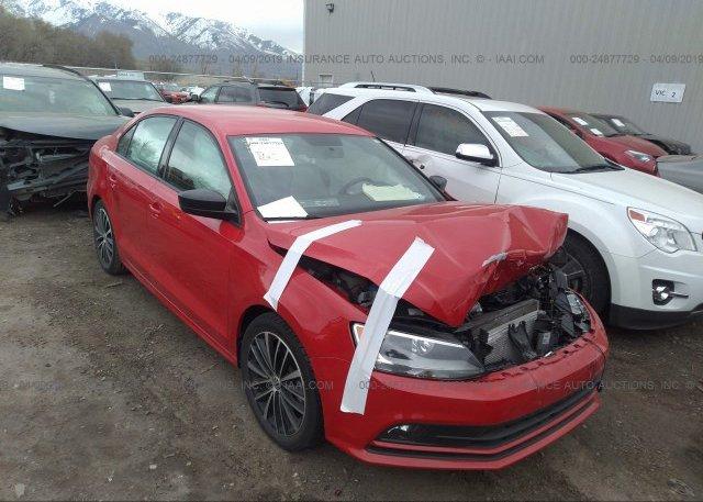 Inventory #852158621 2016 Volkswagen JETTA
