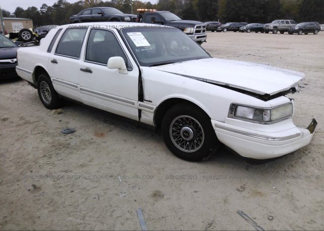 1lnlm82w0ty706100 Salvage Green Lincoln Town Car At Clayton Nc On