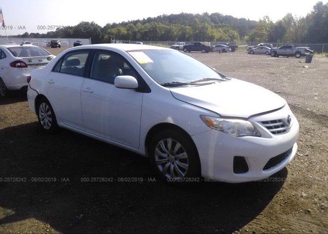 Inventory #768882107 2013 Toyota COROLLA