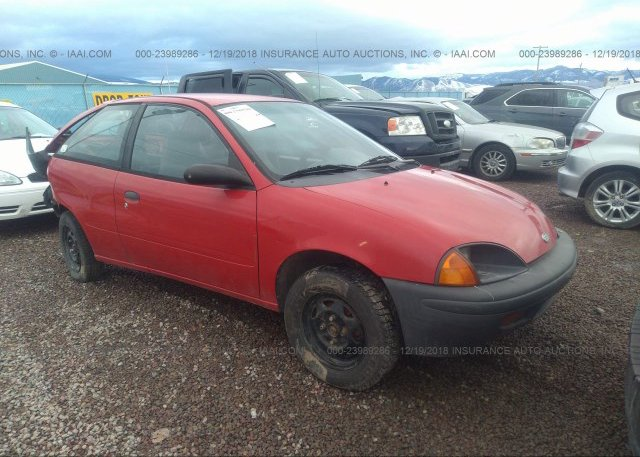Bidding Ended On 2c1mr2264v6741705 Salvage Geo Metro At Missoula