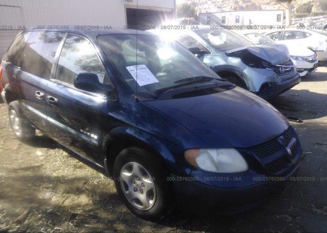 Inventory #174014043 2001 Dodge CARAVAN