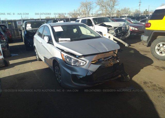 Inventory #155747255 2016 Hyundai ACCENT