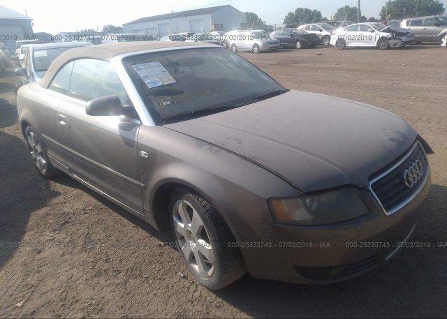 Inventory #492134584 2003 AUDI A4