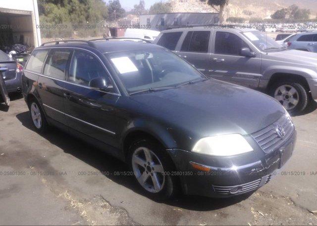 Inventory #806100711 2004 Volkswagen PASSAT