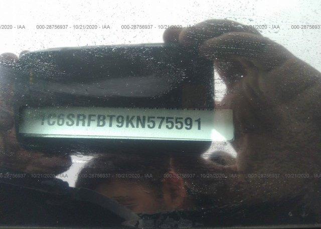 1C6SRFBT9KN575591 2019 RAM 1500