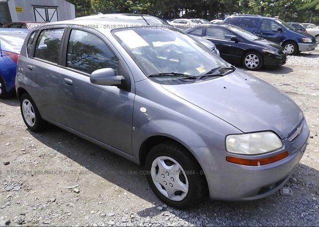 Inventory #126132030 2008 Chevrolet AVEO