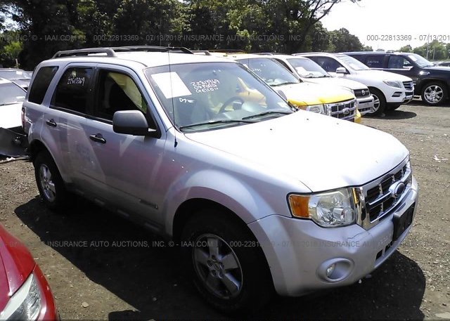 Inventory #650280106 2008 FORD ESCAPE