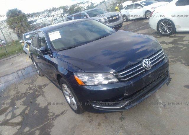 Inventory #397235812 2012 Volkswagen PASSAT