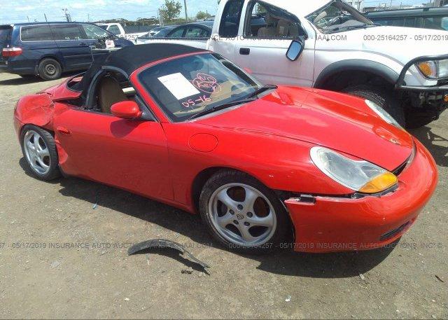 Inventory #960622561 1998 Porsche BOXSTER