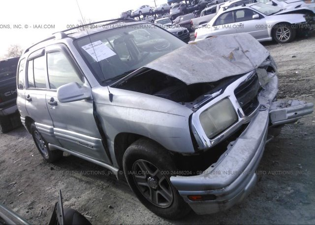 2CNBE634226932251, Salvage silver Chevrolet Tracker at