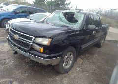 2006 Chevrolet SILVERADO - 2GCEK13T761166606 Right View