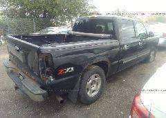 2006 Chevrolet SILVERADO - 2GCEK13T761166606 rear view
