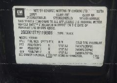 2006 Chevrolet SILVERADO - 2GCEK13T761166606 engine view