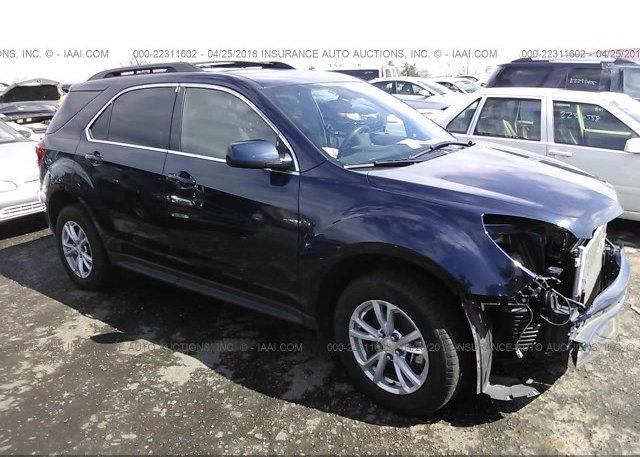 Inventory #533070417 2017 Chevrolet EQUINOX