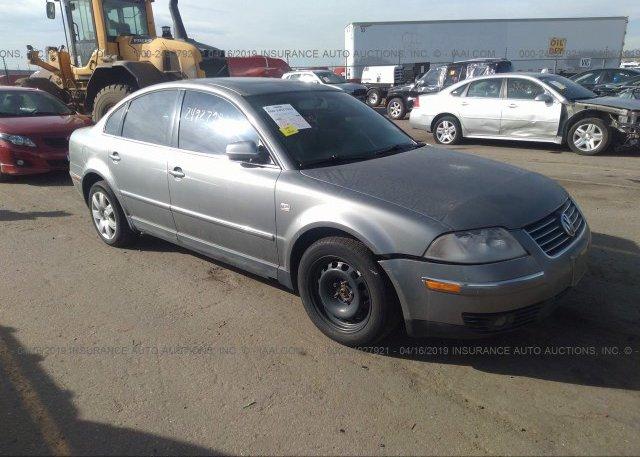 Inventory #412982270 2003 Volkswagen PASSAT