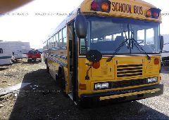 2003 BLUE BIRD SCHOOL BUS / TRAN