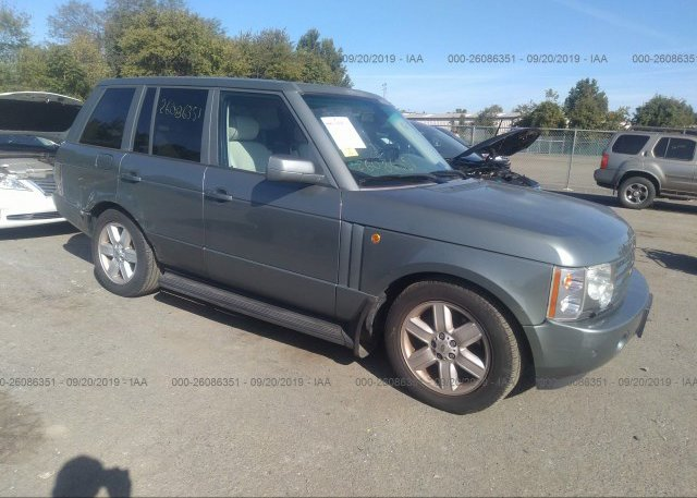 Inventory #733258990 2005 Land Rover RANGE ROVER