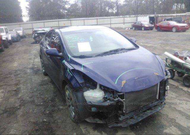 Inventory #854738807 2011 Hyundai ELANTRA