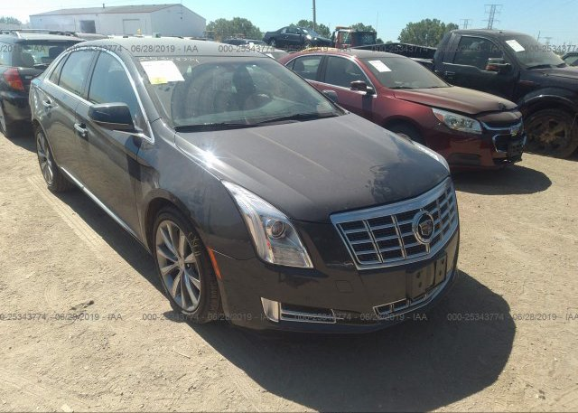 2G61P5S36D9202067, Salvage black Cadillac Xts at