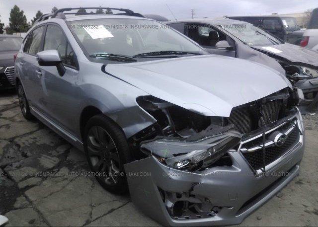 Inventory #340500864 2016 Subaru IMPREZA