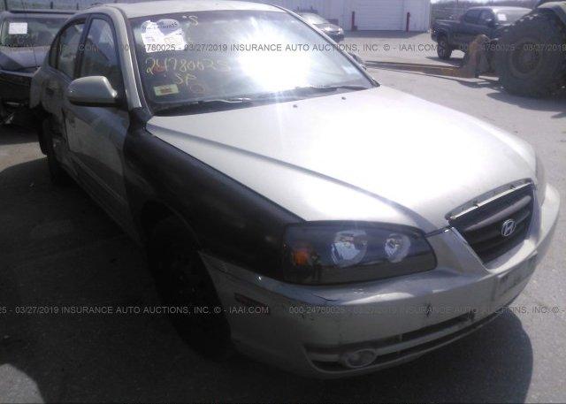 Inventory #988017353 2004 Hyundai ELANTRA
