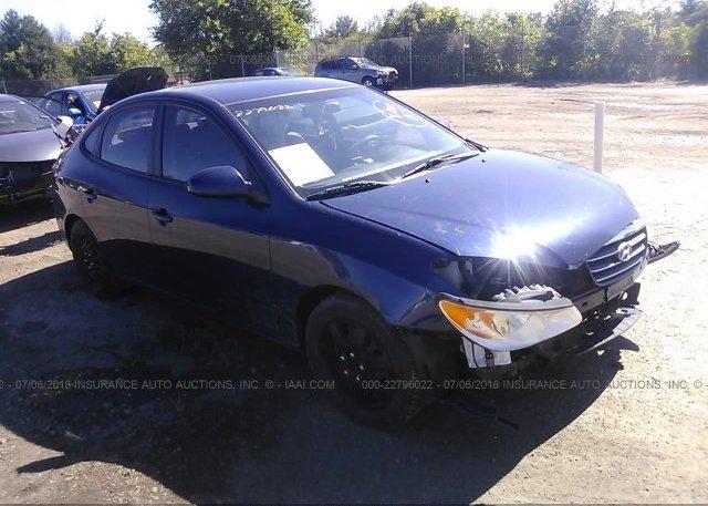 Inventory #676515712 2009 Hyundai ELANTRA