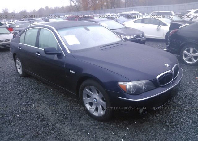 Inventory #873517644 2007 BMW 750