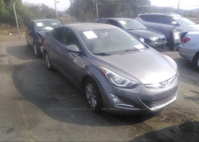 Inventory #201891721 2014 Hyundai ELANTRA