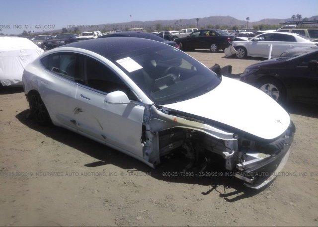 Inventory #345309270 2018 Tesla MODEL 3