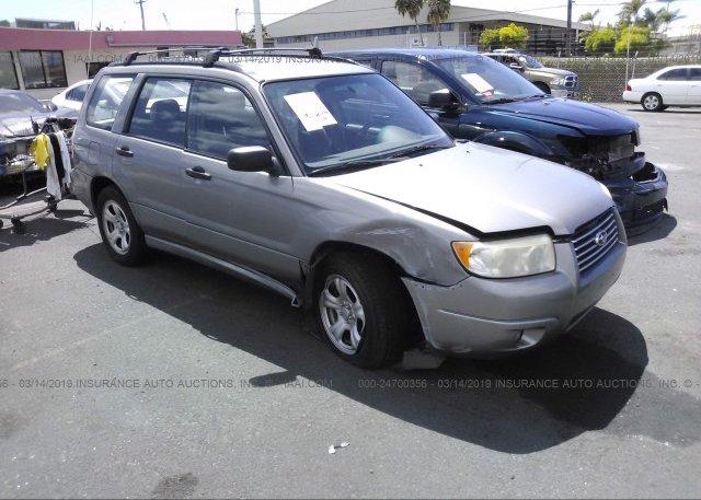 Inventory #240075944 2006 Subaru FORESTER