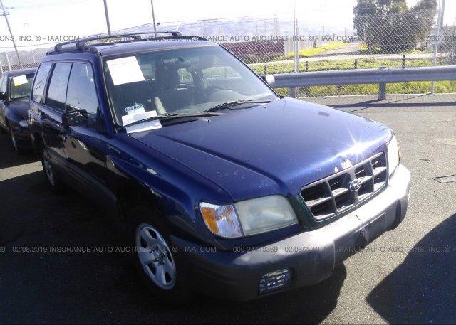 Inventory #472431244 2002 Subaru FORESTER