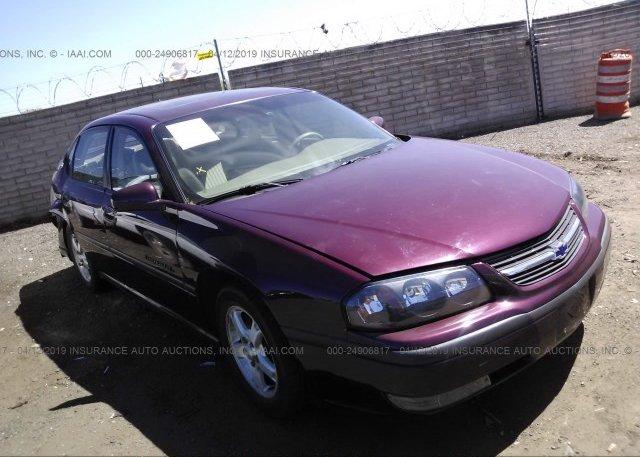 Inventory #618318219 2003 Chevrolet IMPALA