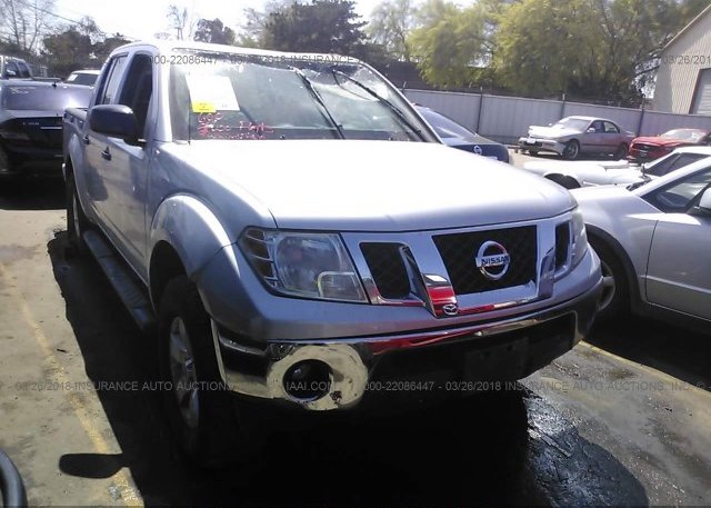 1n6ad07u19c426080 Salvage Certificate Silver Nissan Frontier At