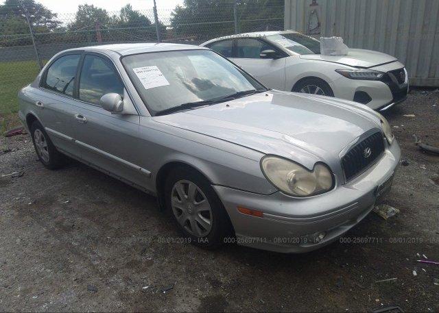 Inventory #266884019 2005 Hyundai SONATA