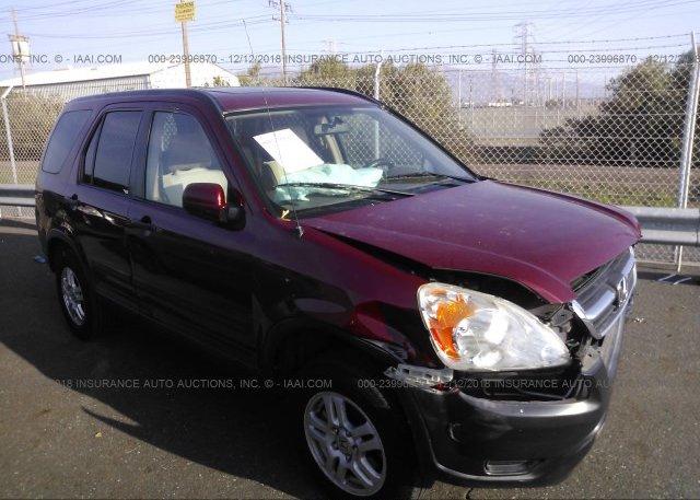 Inventory #877336661 2004 Honda CR-V
