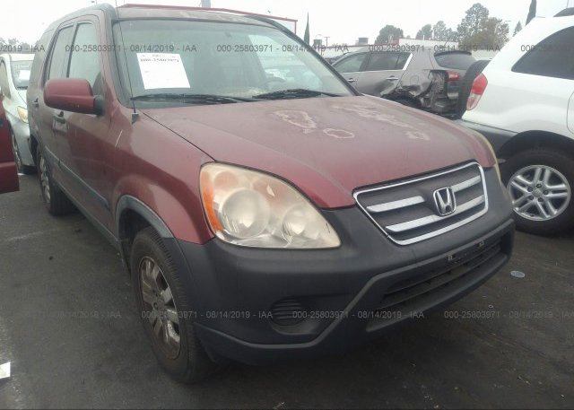 Inventory #966766368 2005 Honda CR-V
