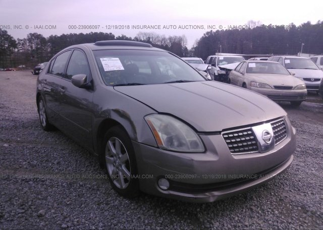 Inventory #746546716 2004 Nissan MAXIMA