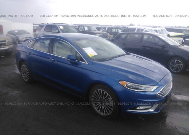 Inventory #162453682 2017 FORD FUSION