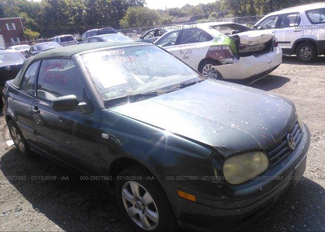 Inventory #378996271 2001 VOLKSWAGEN CABRIO