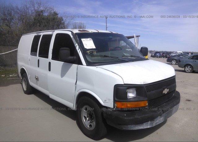 Inventory #720121179 2007 Chevrolet EXPRESS G2500