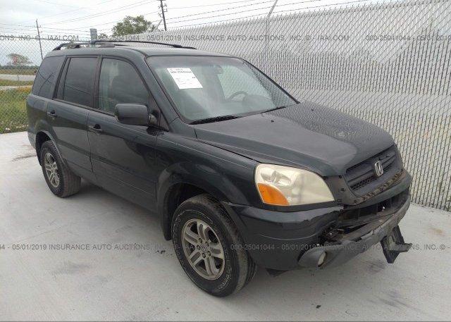 Inventory #711116295 2003 Honda PILOT