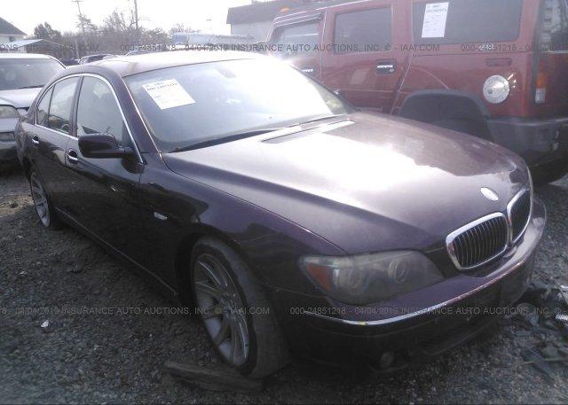Inventory #736360357 2006 BMW 750