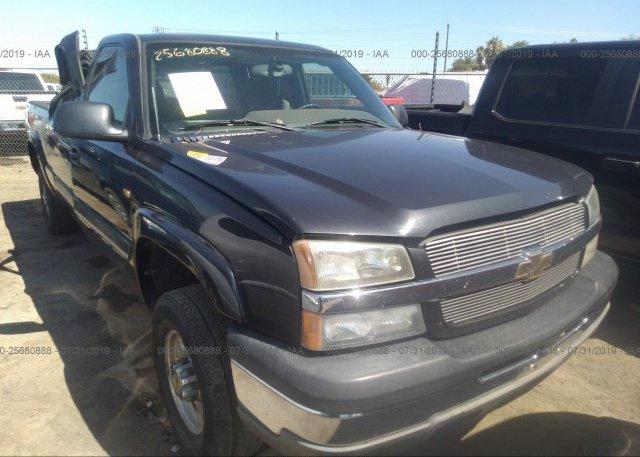 Inventory #959255851 2004 Chevrolet SILVERADO