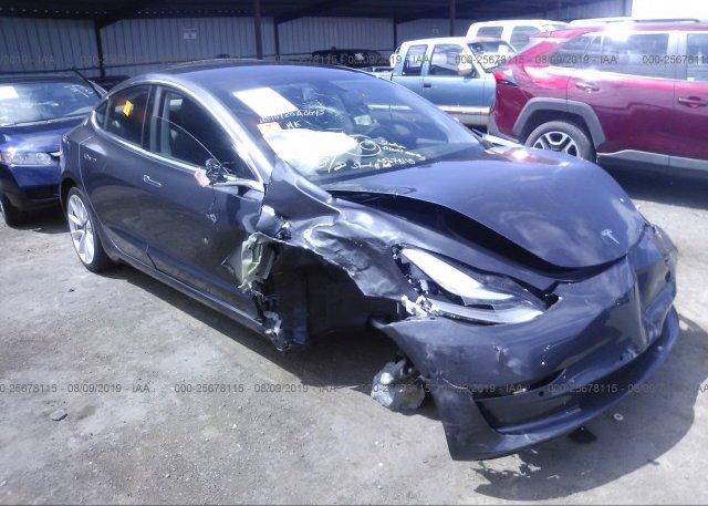 Inventory #802987337 2018 Tesla MODEL 3