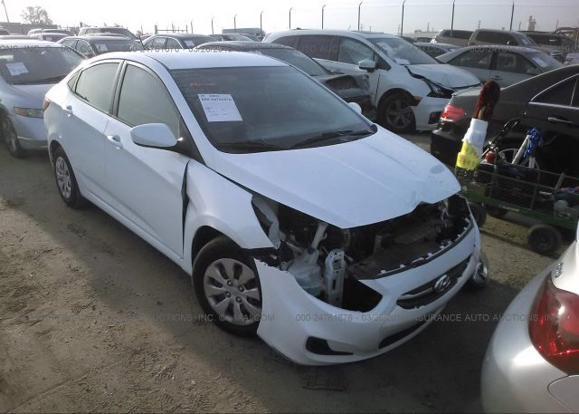 Inventory #600282680 2016 Hyundai ACCENT