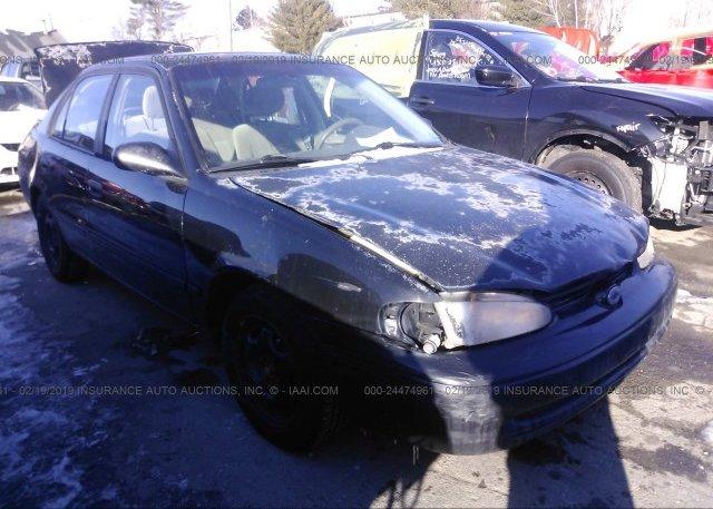 Inventory #958884712 2001 Chevrolet GEO PRIZM