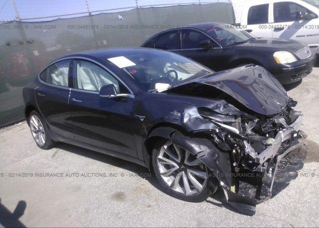 Inventory #320746227 2018 Tesla MODEL 3