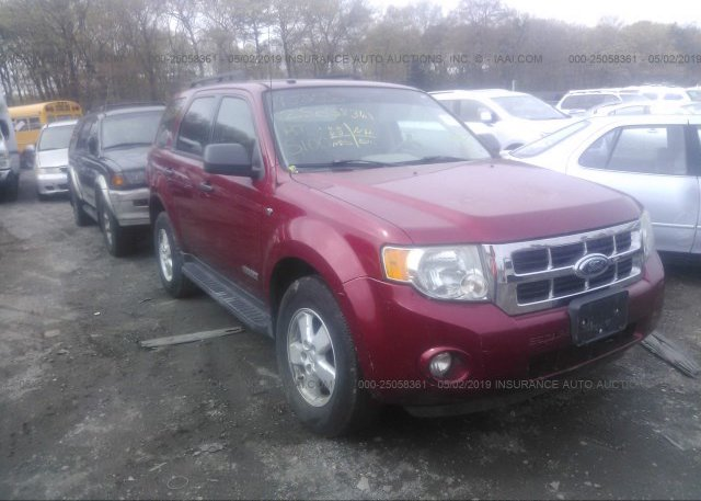Inventory #932050375 2008 FORD ESCAPE