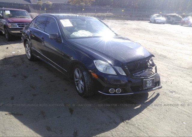Inventory #529731405 2010 Mercedes-benz E